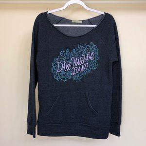 Alternative Dave Matthews Band Graphic Sweatshirt